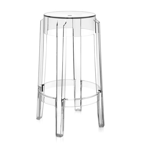 Charles Ghost Modern Bar Stool