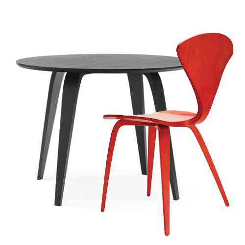 molded plywood chairs cherner modern red. norman cherner side chair molded plywood chairs modern red