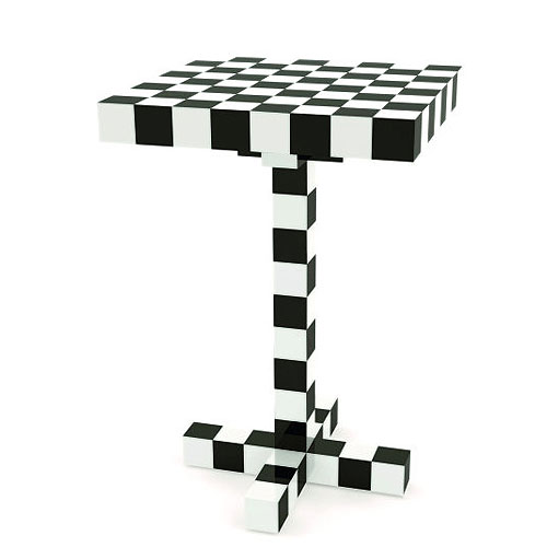 moooi chess modern side tablefront | stardust