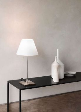 Luceplan costanzina small table lamp stardust luceplan costanzina small table lamp aloadofball Gallery