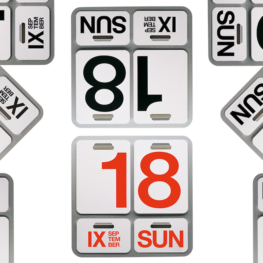 Formosa Perpetual Wall Calendar By Enzo Mari Office Products