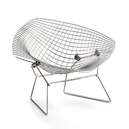 Vitra Miniature Diamond Chair By Harry Bertoia