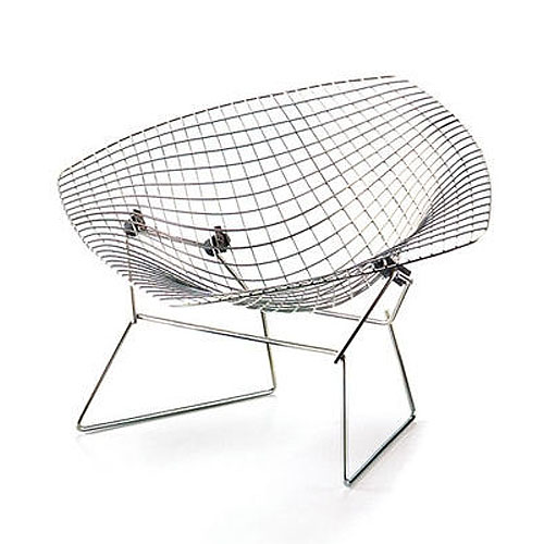 Vitra Miniature Diamond Chair By Harry Bertoia Stardust
