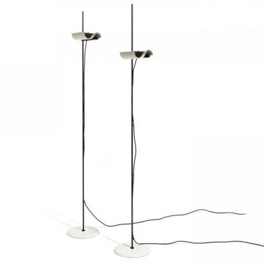 torchiere table lamp. DIM 333® Adjustable Torchiere Floor Lamp W/dimmer - Oluce, White/Black Table