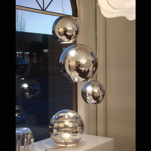 fontanaarte globo di luce lamp pendant lamp ball pendant lighting