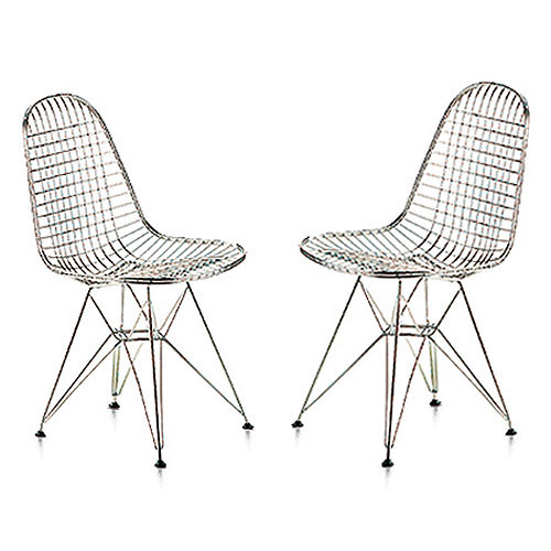 ray and charles eames furniture. Vitra Miniature 5.25-inch DKR Wire Chair By Charles And Ray Eames Furniture L
