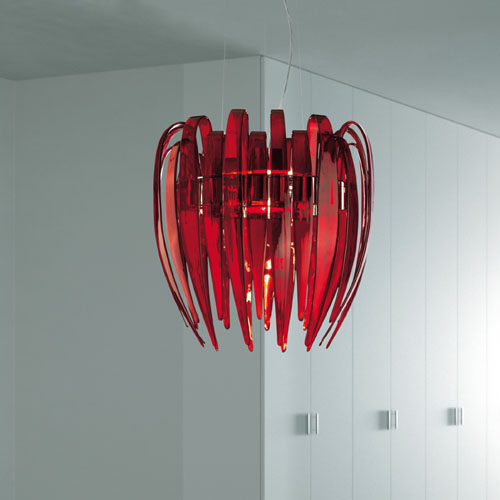 Leucos Dracena S60 Modern Murano Glass Chandelier Stardust