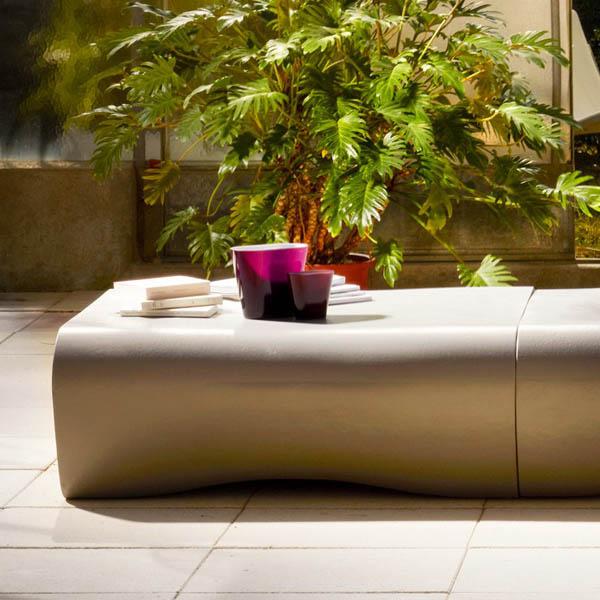 dune outdoor furniture. dune modern concrete outdoor garden table dune furniture 2