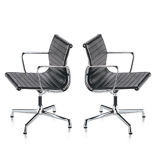 Vitra Miniature Aluminum Group Chair By Charles And Ray