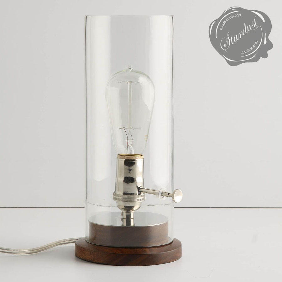 historic lighting 1910 edison table lamp stardust. Black Bedroom Furniture Sets. Home Design Ideas