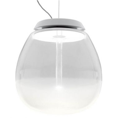 Empatia 16 26 36 Frosted Amp Clear Modern Glass Pendant