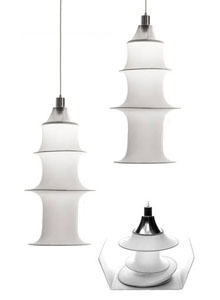 Danese Milano Falkland Pendant Lamp Medium By Bruno Munari