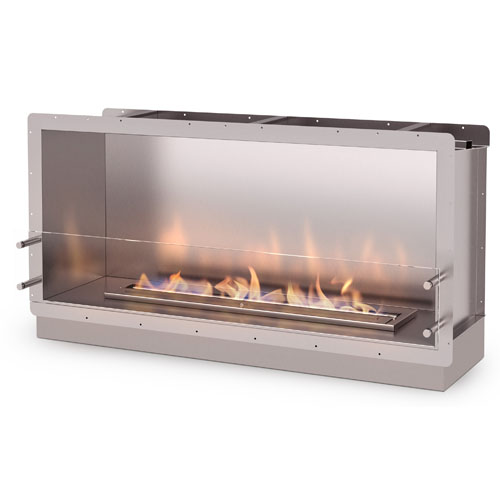 The Firebox 1200SS is designed and manufactured by Ecosmart Fire. This lightweight stainless steel