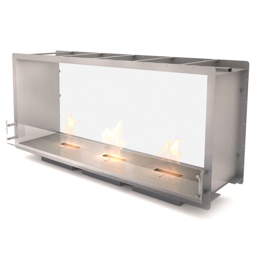 The Firebox 1800DB is designed and manufactured by Ecosmart Fire. The sleek