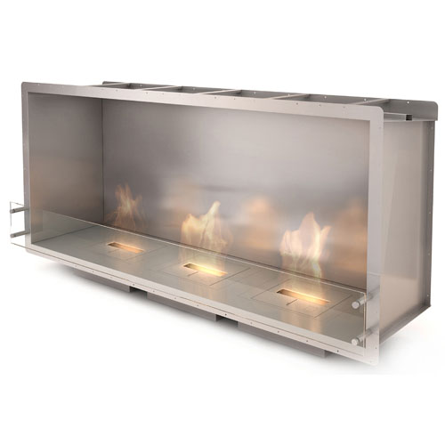 The Firebox 1800SS is designed and manufactured by Ecosmart Fire. The Firebox 1800SS offers utmost ease of installation. A rectangular-shaped stainless steel firebox