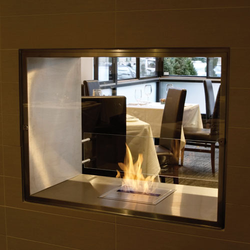 Image Result For Double Sided Fireplace Insert Ventless