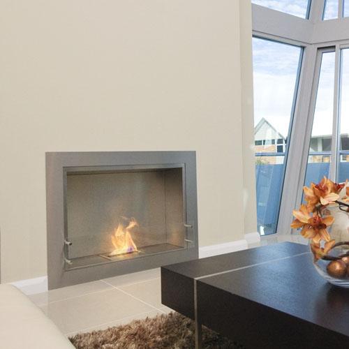 ecosmart fire firebox 900ss renovator range modern ventless fireplace