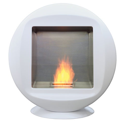 Modern Ventless Fireplace for Indoor or Outdoor Use