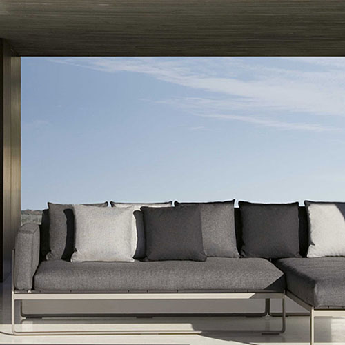 gandia blasco flat modern outdoor sofa modular 1 stardust