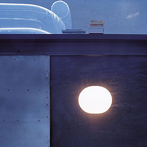 Flos Glo Ball W Modern Wall Light By Jasper Morrison