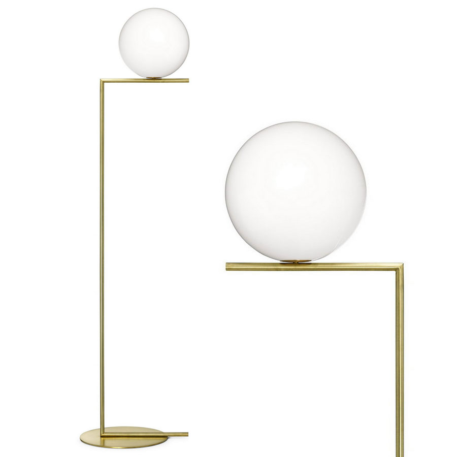 IC® ...  sc 1 st  Stardust Modern Design & IC® F1/F2 Floor Lamp by FLOS lighting | Stardust