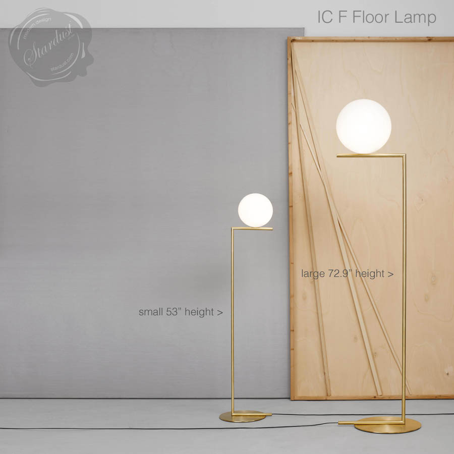 Ic f1f2 floor lamp by flos lighting stardust ic f1f2 floor lamp by flos lighting mozeypictures Choice Image