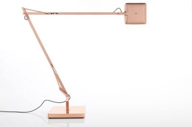 ... Flos Kelvin LED Copper Table Lamp With Adjustable Head