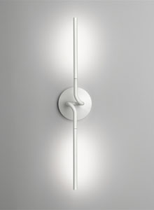 Double Light Spring Wall Sconce Ron Gilad Flos Wall