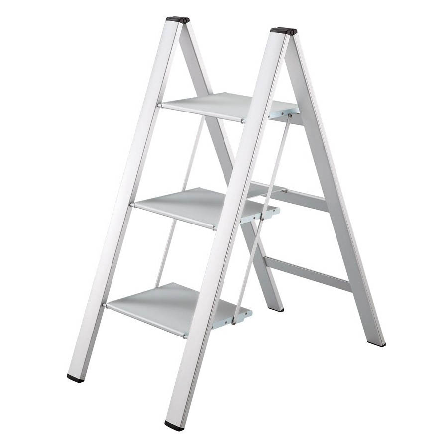 Log In  sc 1 st  Stardust Modern Design & 3-Grip-Step Lightweight Aluminum Folding Ladder with UltraSlim ... islam-shia.org