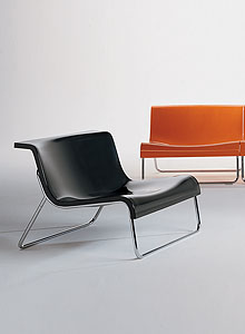 Form modern lounge chair by piero lissoni for kartell for Modern lounge furniture