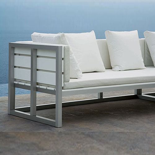 Gandia Blasco Saler Modular Sofa 1 Outdoor Lounge Furniture Stardust