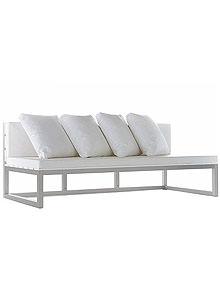 Fine Gandia Blasco Saler Modular Sofa 3 And 4 Outdoor Lounge Furniture Onthecornerstone Fun Painted Chair Ideas Images Onthecornerstoneorg