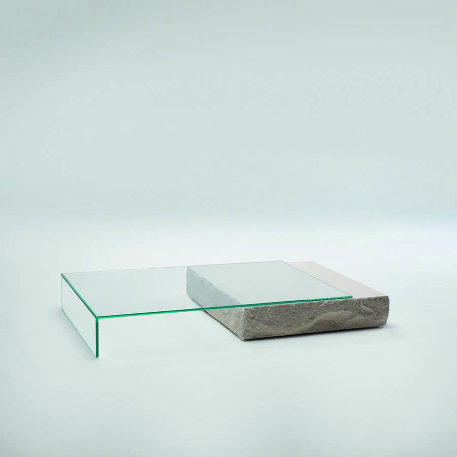 Glas Italia Terraliquida Glass Coffee Table ...