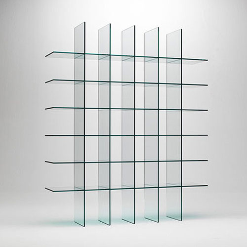 Glas Italia Glass Shelves #1 by Shiro Kuramata | Stardust