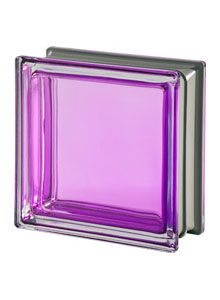 Seves glass block alessandro mendini collection tormalina for Stardust purple bath collection