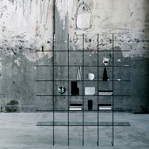 glas italia glass shelves