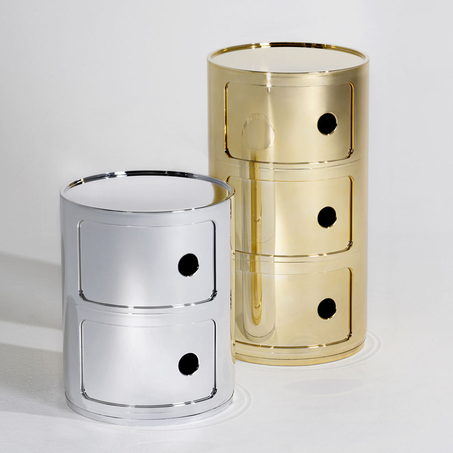 componibili gold  stardust - kartell componibili