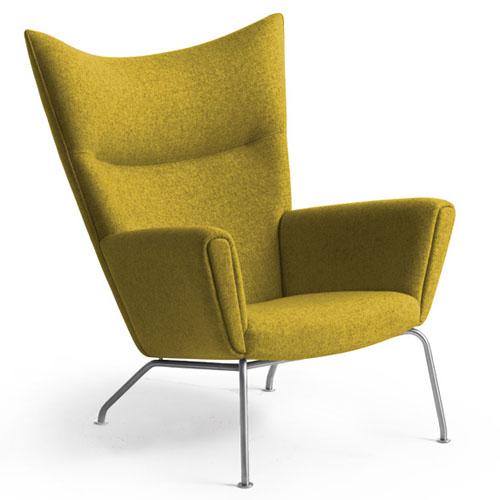 Hans Wegner CH445 Wing Lounge Chair .