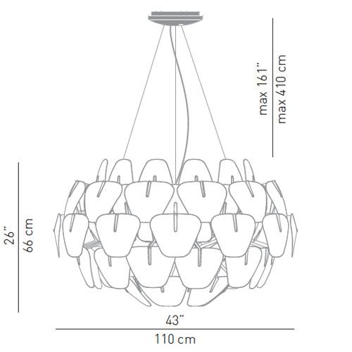 luceplan hope pendant lamp large d66  42