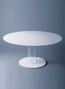 Round glass dining table 110cm Theestatesgacom Glas Italia Hub Large Round Glass Dining Table By Piero Lissoni