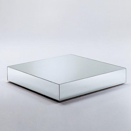 Bon Glas Italia I Massi Mirrored Glass Coffee Table