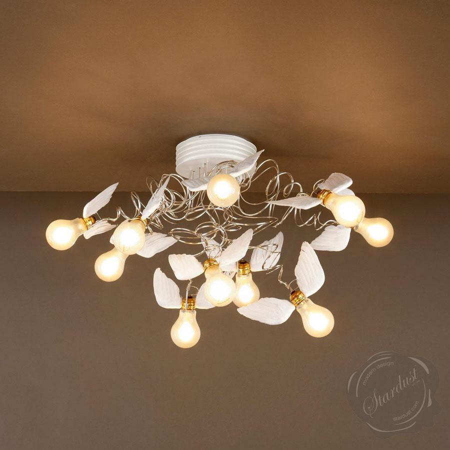 Ingo Maurer Birdie's Nest® - Birdies Nest Ceiling Light   Stardust