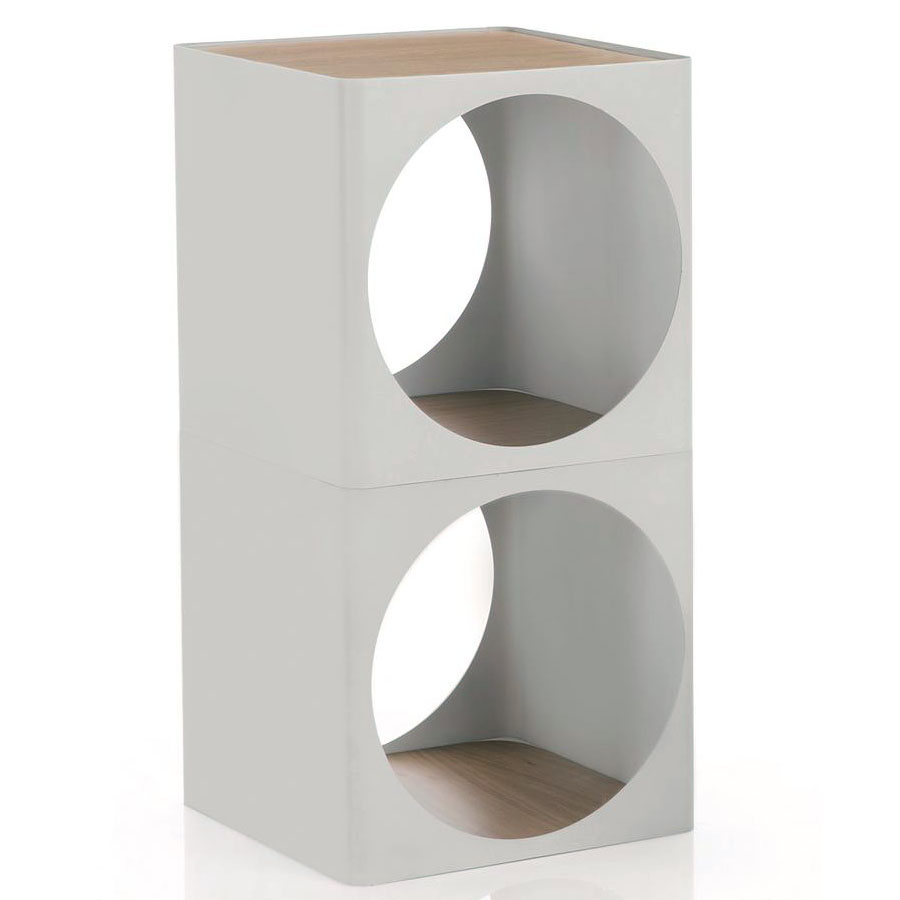 joe colombo ring small bedside table and modular storage system