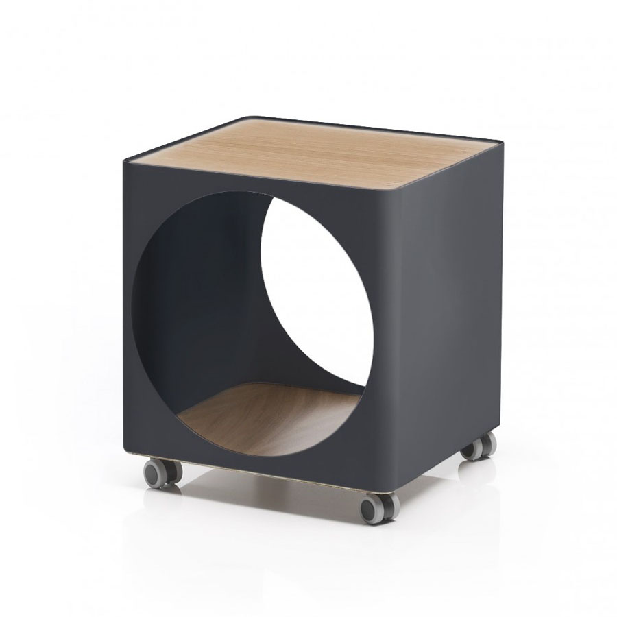 Bedside Storage colombo® ring small bedside table - modular storage system