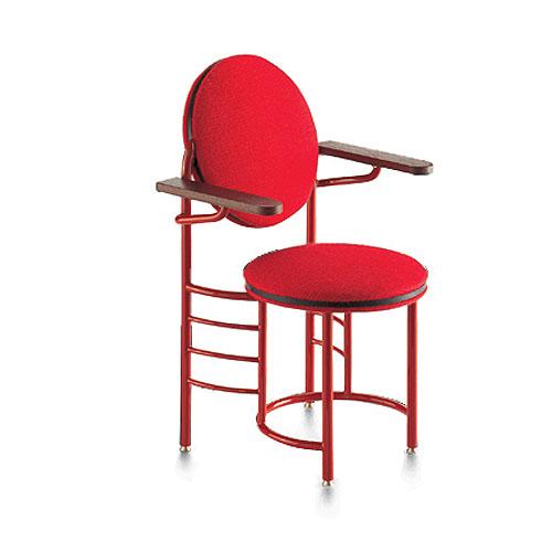 Delightful Vitra Miniature 5.75 Inch Johnson Wax Chair By Frank Lloyd Wright