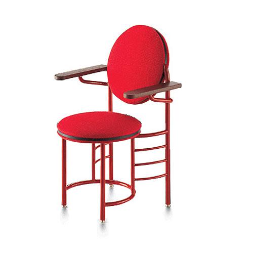 Vitra Miniature 5.75 Inch Johnson Wax Chair By Frank Lloyd Wright