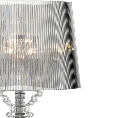 Kartell Bourgie Lamp Transparent Clear Sample Sale  Stardust