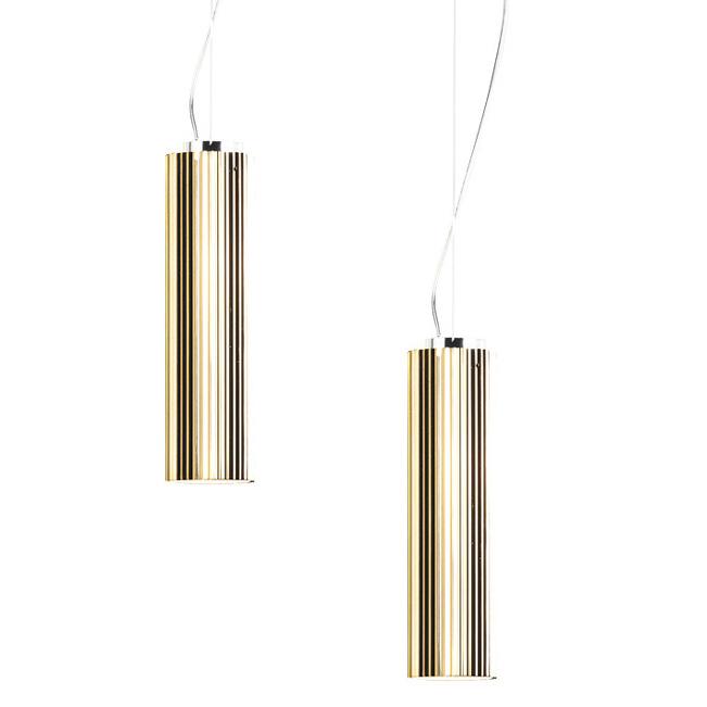 RIFLY™ Modern Suspension Light With Metallic Gold Finish