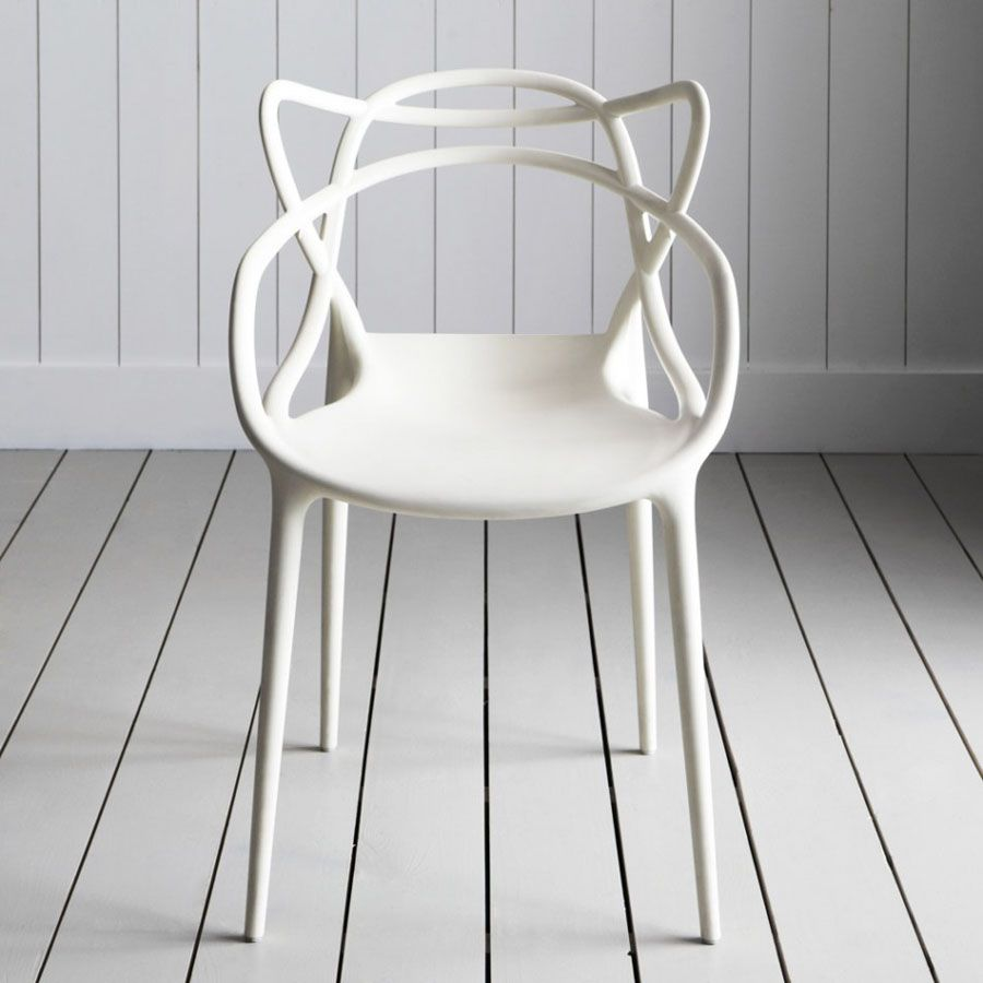 kartell modern masters chair by philippe starck  stardust - log in