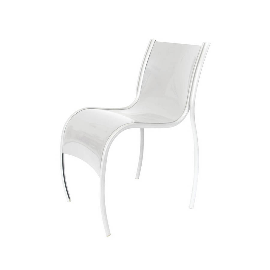 Kartell FPE Modern Design Chair by Ron Arad Stardust